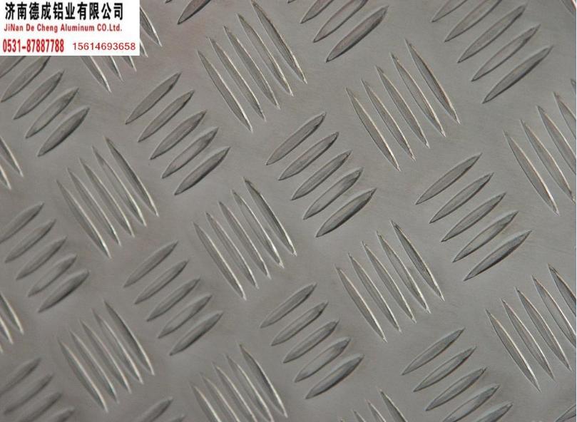 五条筋花纹铝板 厚度1.5-5.0毫米